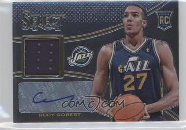2013-14 Panini Select - Rookie Jerseys Autographs #16 - Rudy Gobert