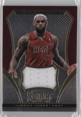 2013-14 Panini Select - Swatches #7 - LeBron James