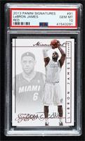 LeBron James [PSA 10 GEM MT] #/10