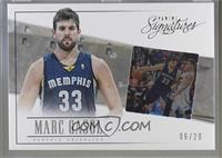 Marc Gasol [Noted] #/20