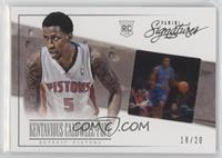 Kentavious Caldwell-Pope #/20