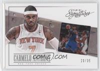 Carmelo Anthony #/35