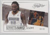 Kenneth Faried #/35