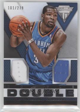 2013-14 Panini Titanium - Double-Double Jerseys #48 - Kevin Durant /279