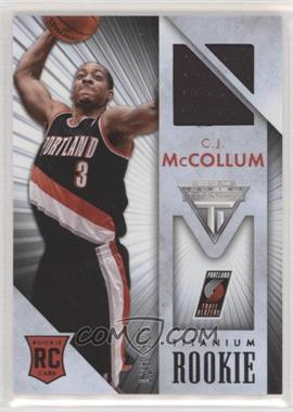 2013-14 Panini Titanium - Rookie Jerseys #50 - C.J. McCollum /325