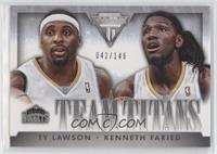 Kenneth Faried, Ty Lawson #/149