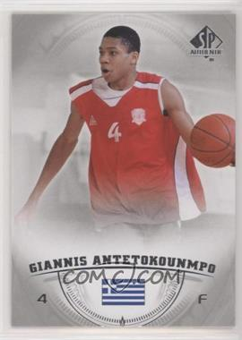 2013-14 SP Authentic - [Base] #36 - Giannis Antetokounmpo