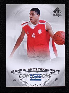 2013-14 SP Authentic - [Base] #36 - Giannis Antetokounmpo