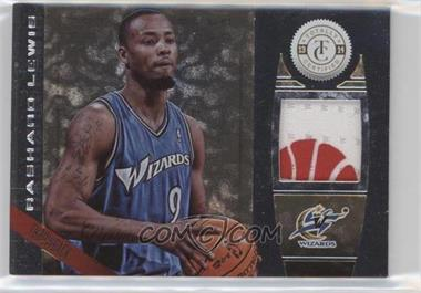 2013-14 Totally Certified - Memorabilia - Totally Gold Prime #156 - Rashard Lewis /25