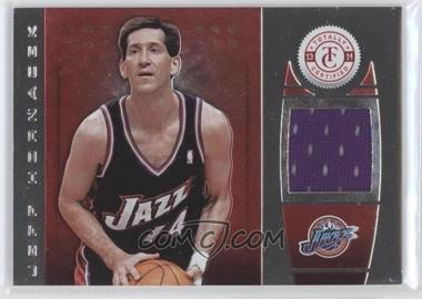 2013-14 Totally Certified - Memorabilia - Totally Red #127 - Jeff Hornacek /99
