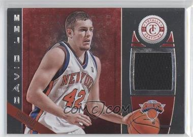 2013-14 Totally Certified - Memorabilia - Totally Red #159 - David Lee /199