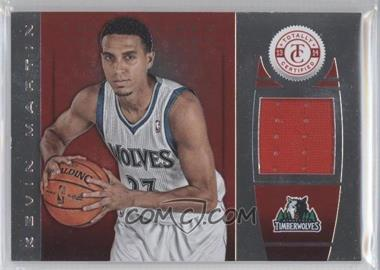 2013-14 Totally Certified - Memorabilia - Totally Red #2 - Kevin Martin /149