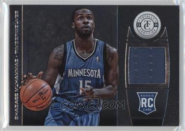 2013-14 Totally Certified - Memorabilia - Totally Silver #195 - Shabazz Muhammad