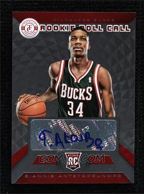 2013-14 Totally Certified - Rookie Roll Call Signatures - Red #19 - Giannis Antetokounmpo /99
