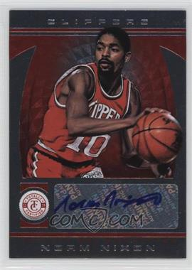 2013-14 Totally Certified - Signatures - Totally Red #216 - Norm Nixon /99