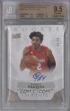 2013-14 Upper Deck Exquisite Collection - Rookie Autographs #R-EP - Elfrid Payton /99 [BGS 9.5 GEM MINT]