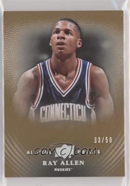 2013 Upper Deck All-Time Greats - [Base] - Spectrum Silver #94 - Ray Allen /50
