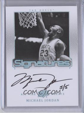 2013 Upper Deck All-Time Greats - Signatures - Spectrum Silver #ATG-MJ3 - Michael Jordan /5