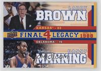 Larry Brown, Danny Manning