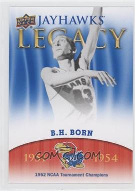 2013 Upper Deck University of Kansas - Jayhawks Legacy #JL-9 - B.H. Born