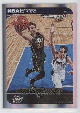 2014-15 NBA Hoops - [Base] - Artist's Proof #80 - Gordon Hayward /99