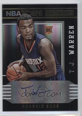 2014-15 NBA Hoops - Hot Signatures #78 - T.J. Warren