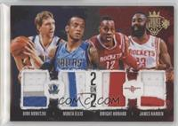 Dirk Nowitzki, Dwight Howard, James Harden, Monta Ellis /25