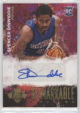 2014-15 Panini Court Kings - Remarkable Rookie Signatures #27 - Spencer Dinwiddie