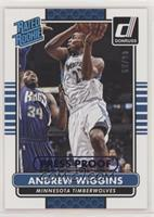 Rated Rookies - Andrew Wiggins #/99