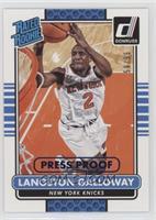 Langston Galloway /99