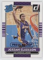 Rated Rookies - Jordan Clarkson #/199