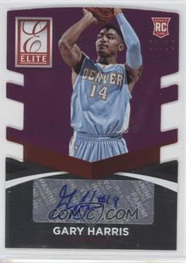 2014-15 Panini Donruss - Elite Status Signatures - Purple Die-Cuts #34 - Gary Harris /74