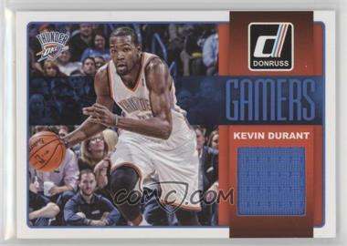 2014-15 Panini Donruss - Gamers Jerseys #27 - Kevin Durant