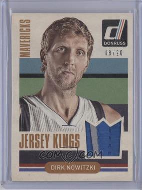 2014-15 Panini Donruss - Jersey Kings - Prime #6 - Dirk Nowitzki /20