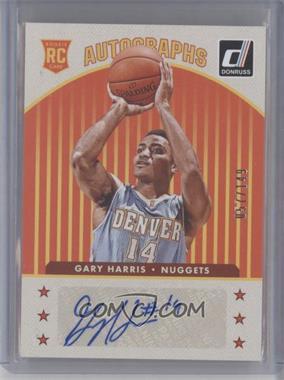 2014-15 Panini Donruss - Rookie Autographs #30 - Gary Harris /149