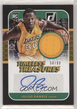 2014-15 Panini Donruss - Timeless Treasures Jersey Autographs #TT-JR - Julius Randle /99