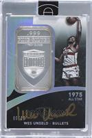 Wes Unseld /10 [Uncirculated]