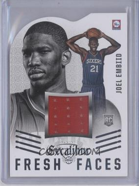 2014-15 Panini Excalibur - Fresh Faces Die-Cut Jerseys #5 - Joel Embiid