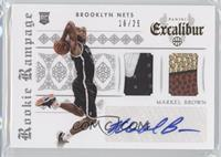 Markel Brown #16/25