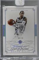 Monta Ellis [Uncirculated] #/20