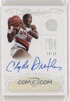 Clyde Drexler #/20
