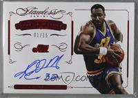 Karl Malone [Noted] #/15