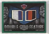 Larry Johnson, Patrick Ewing #/25