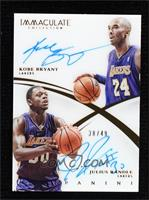 Julius Randle, Kobe Bryant [Noted] #/49