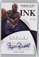 Bryon Russell #/25
