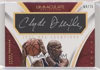 Clyde Drexler #/75