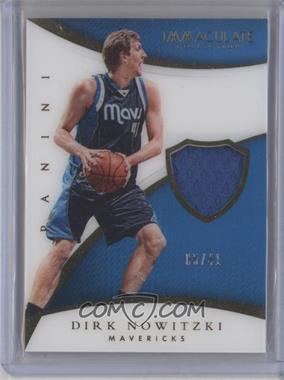 2014-15 Panini Immaculate Collection - Patches #P-DN - Dirk Nowitzki /41
