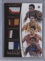 Spencer Dinwiddie, Doug McDermott, Jabari Parker, Joe Harris /10