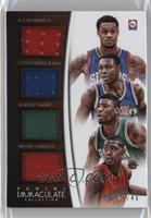 Bruno Caboclo, Marcus Smart, Cleanthony Early, K.J. McDaniels #/49