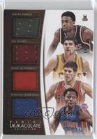 Doug McDermott, Spencer Dinwiddie, Jabari Parker, Joe Harris /49